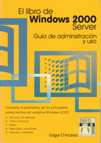 El libro de Windows 2000 Server