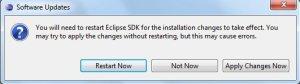 Actualización del software ADT