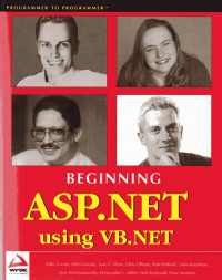 Beginning ASP.NET using VB.NET