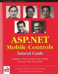 ASP.NET Mobile Controls