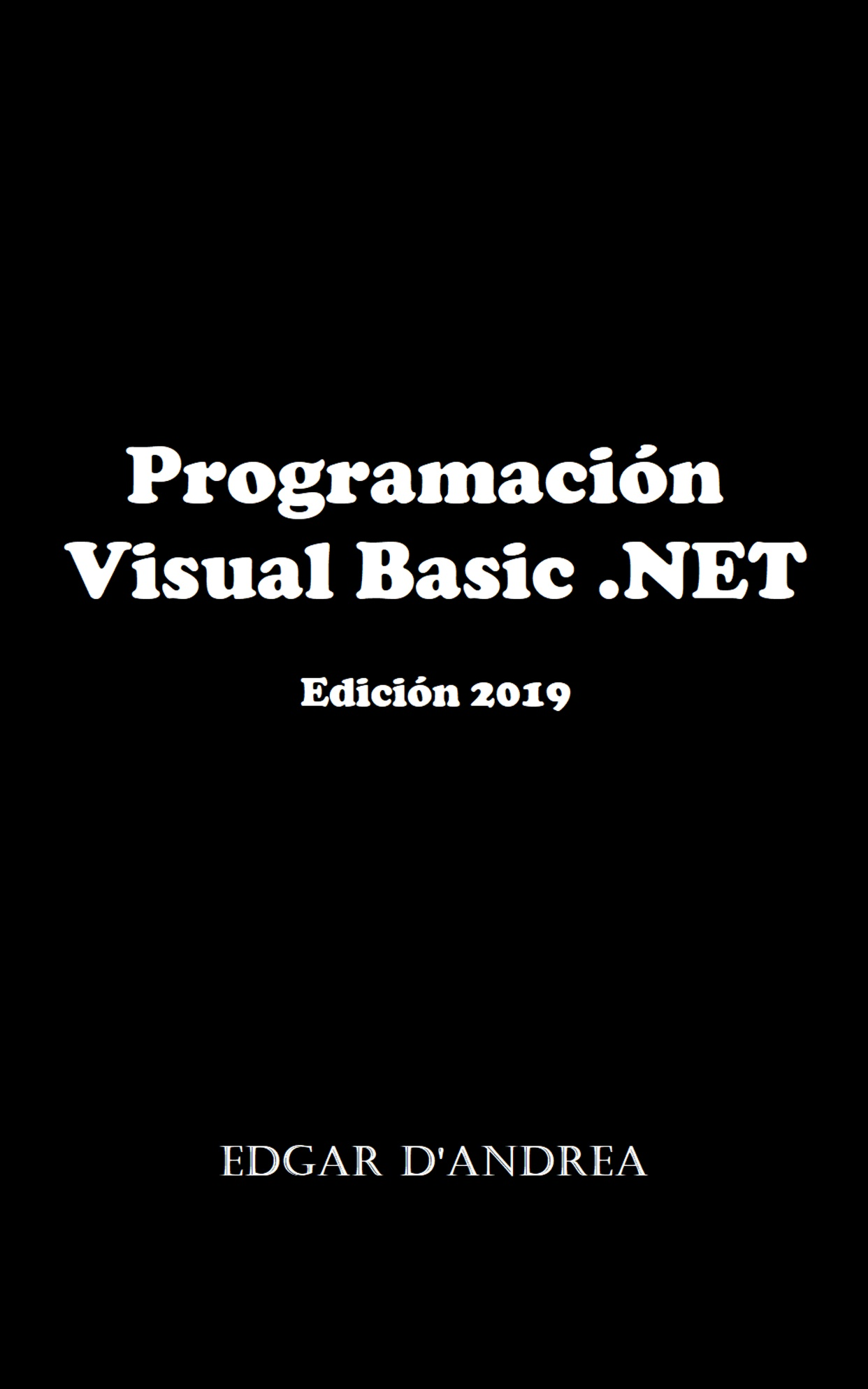 Programación Visual Basic .NET